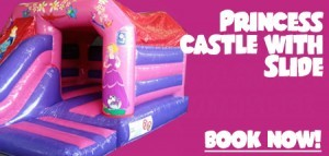 Princess Castle with Slide!